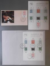 1984 AUSIPEX WORLD PHILATELIC EXPO DECIMAL STAMP FIRST DAY COVERS + STAMPS #140