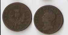 Canada,  Nova Scotia half penny token 1823