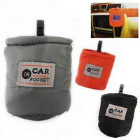 Car Bin Mini Pouch Storage Trash Rubbish Pocket Small Basket Bag Holder Waste