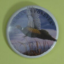 1988 Pheasants Forever Conservation Club Membership Button...Free Shipping!