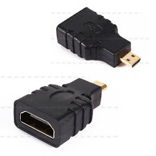 Micro HDMI Male to HDMI Female Plug Adapter Connector For HDTV TV BOX Tablet PC
