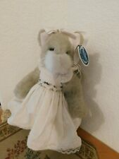 "Bearington Bears ""Purcilla Purrsnickitty"" 11"" Plush Cat"
