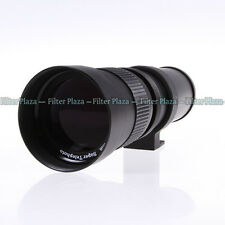420-800mm F/8.3-16 Telephoto Zoom Lens +T Mount for Canon EOS EF 7D 5D2 5D3 70D