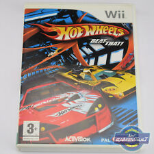 Hot Wheels: Beat That - Nintendo Wii Game + Manual VGC - Rare UK PAL version