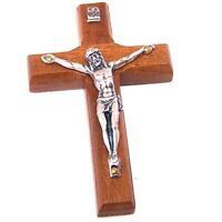 Wooden wall / glass / car / Frig. Crucifix with stickers - small and thick (7...