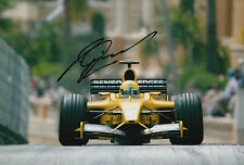 Ralph Firman Hand Signed Jordan Ford F1 12x8 Photo 7.