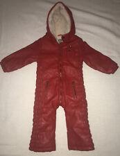 Kidscase Unisex Leather Fleece Lined Snow Suit - Size 86 / 18 months