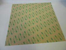1 Bogen 3M 467MP Klebstoffilm doppelseitiges Klebeband Klebestreifen 300mmx300mm