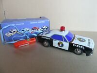 288I Asahi 7607 Japon Chevrolet Camaro Highway Patrol Battery Operated + Boite