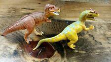 Classic Wild Safari dinosaur models-Gorgosaurus and Allosaurus