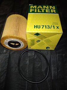 MANN HU713/1X Oil Filter ✓