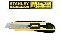 STANLEY Cuttermesser FATMAX L.180mm Klingen-B.18mm m.Magazin Klingenf. a.VA