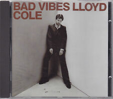 Lloyd Cole CD *Bad Vibes*