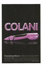 Postcard Luigi Colani Translating Nature Exhibition Poster Design Museum