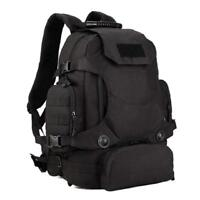 GoGear M3 40L Waterproof Tactical Backpack: Military MOLLE Assault 3 Way Modular