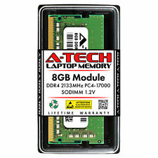 A-Tech 8 ГБ DDR4 2133 260-Pin для ноутбука PC4-17000 Sodimm для ноутбука памяти Ram 1x 8G