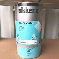(20,00€/L.) SIKKENS Wapex 660 Beschichtung  Hell Grau 5 Liter