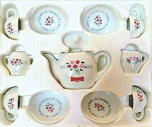 Little Debbie Porcelain Tea Set Collectible Heirloom Edition 1997 Twelve Pieces