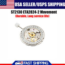 Replacment For Seagull ST2130 ETA 2824-2 Watch Mechanical Automatic Movement USA