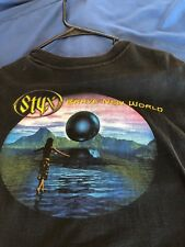 Styx Brave New World Tour 2000 Black TShirt XL