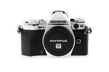 Olympus OM-D e-m5 Mark II 16.0mp sistema cámara plata (sólo carcasa) como nuevo #097