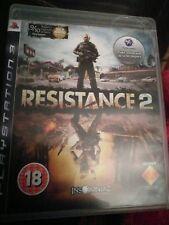 *No Manual* Resistance 2 Sony Playstation 3 PS3 Game UK PAL