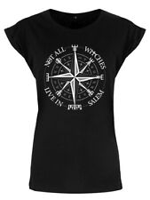 T-shirt Not All Witches Live In Salem Women's Black Premium