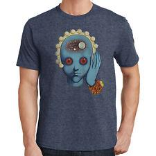 design grafico stampato T-shirt Wellcoda TESCHIO CINEMA 3D Divertente Uomo T-shirt