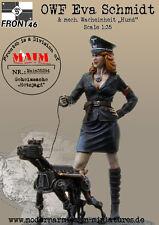 MAiM 1/35 Schwabenland Army - OWF Eva Schmidt & Mech Wacheinheit Hund (1 figure)