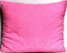 Toddler Pillow on Solid Hot Pink Flannel Fp10 New Handmade