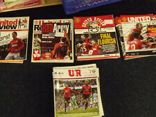 United Review Matchday Program Lot