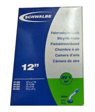 """Cámaras de aire schraderes 12"""" para bicicletas"""
