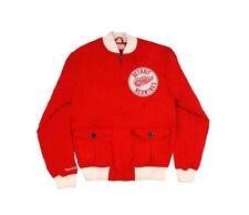 Detroit Red Wings Mitchell & Ness NHL Locker Room Twill Jacket S