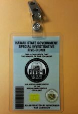 Hawaii Five-O ID Badge - Special Investigator costume prop cosplay