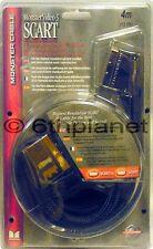 Monster vidéo ® 3 péritel à péritel 4Meter Câble nouveau