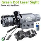 Laser Vert Sight Dot Portée commutateur rail Picatinny Barrel Mounts