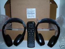 2 headphones DVD remote 03 04 05 & 2006  Yukon Denali Suburban Tahoe and more