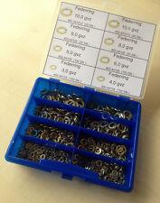 Sortiment Federring  DIN 127  3,0 - 10,0  gelb verzinkt  602 Teile