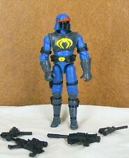 GI JOE Spy Troops Cobra blue Neo Viper v6 2003 army builder complete single pack
