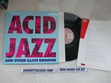 LP va Acid Jazz and other illicit riproduce (6) canzone POLYDOR + presskit