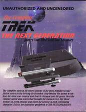 1995 The Complete Star Trek The Next Generation - 200 pages, 32 color photos