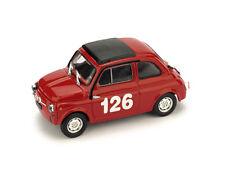 Brumm Bm0480 Fiat 595 Abarth N.126 1st Premio Campagnano Vallelunga 1965 R.pinto