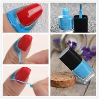 2* Born Pretty Liquid Tape & Peel Off Latex Nagel Kunst Blau Nail Art Maniküre