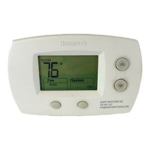 Honeywell FocusPRO 5000 Digital Thermostat - White Model Th5220d1003 See Pics