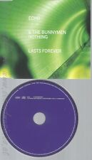 CD--ECHO & THE BUNNYMEN -- - SINGLE -- *NOTHING LASTS FOREVER*