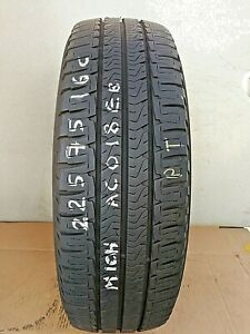 225 75 16CP 116Q MICHELIN AGILIS CAMPING M+S *7.3-7.6MM*  (PRESSURE TESTED)