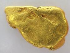 GOLD NUGGET Alaskan  Natural Placer 2.962 GRAMS Napoleon Creek High Purity 92%
