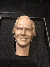 Original RAINMAN DULL BOY 1/6 HEAD SCULPT Jack Nicholson/Torrance THE SHINING