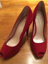 Red New Size 5 Nine West Heels