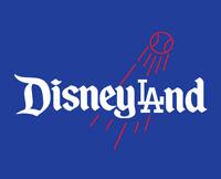 Disneyland LA shirt Mickey Mouse Disney World Los Angeles Dodgers Magic Kingdom